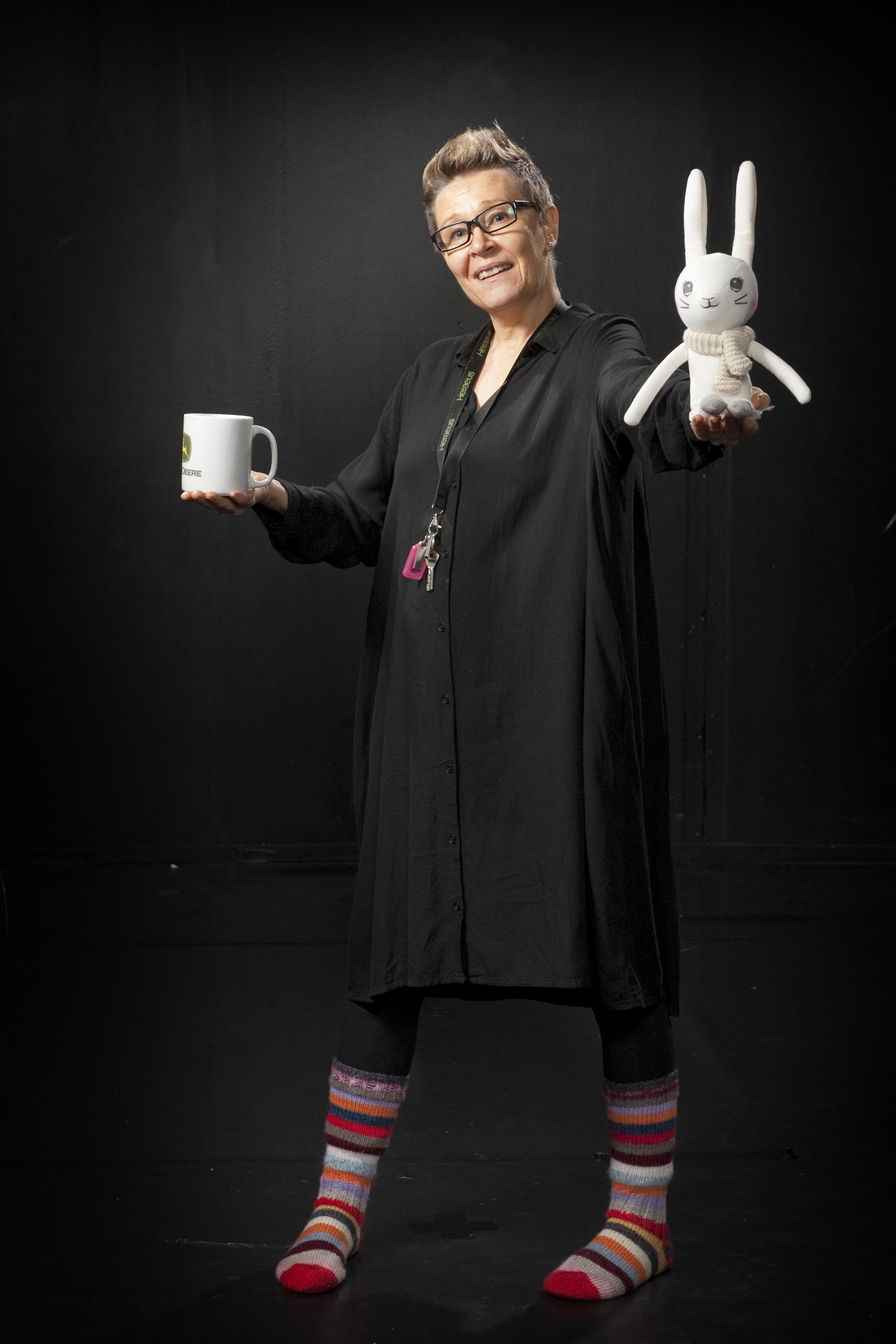 Heidi Parkkinen : Teatterilinjan vastuuopettaja