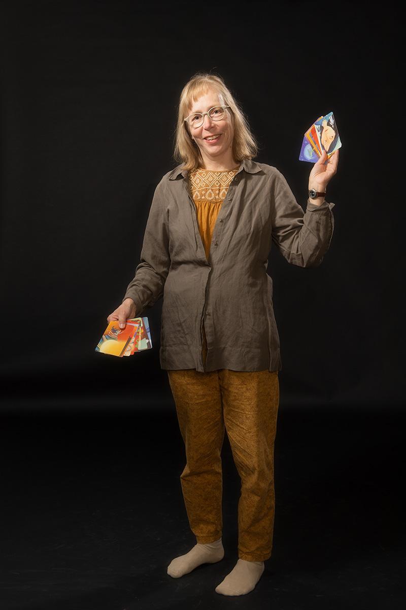 Auli Ryynänen : Teatterilinjan opettaja