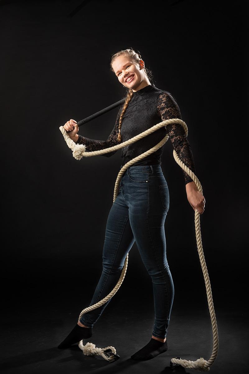 Jessica Kangas : Sirkuslinjan opettaja