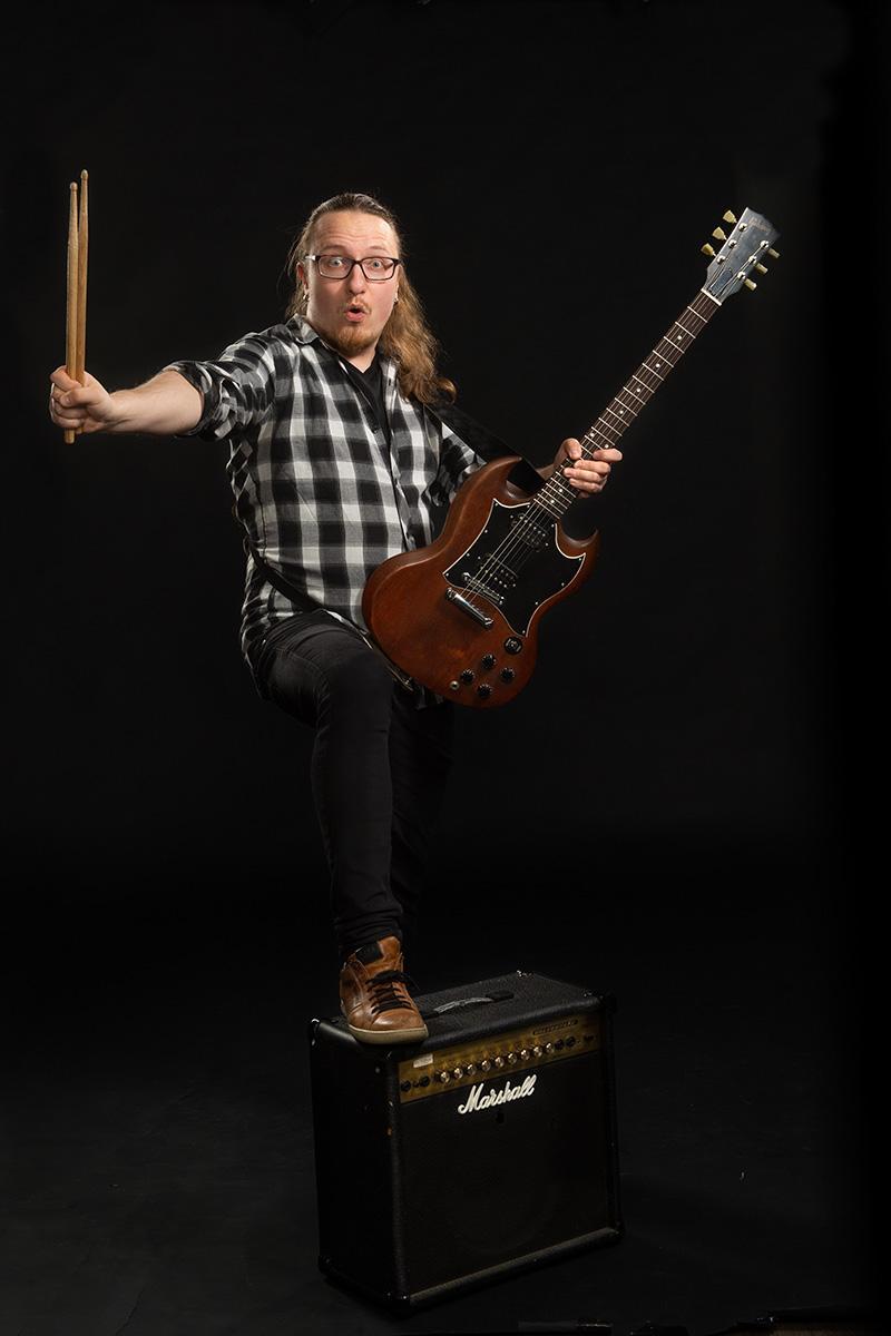 Jaakko Puusaari : Bändilinjan opettaja: bändisoitto
