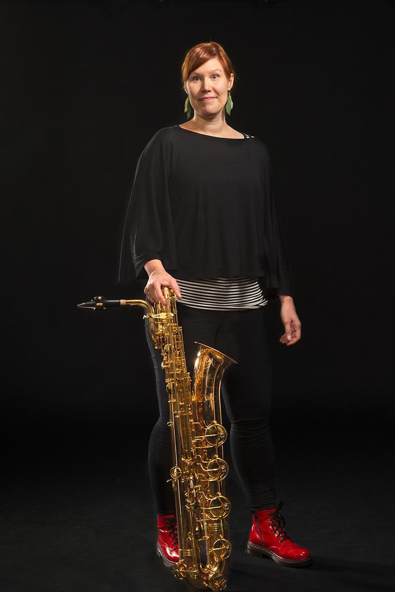 Stina Myllys : Bändilinjan opettaja: saksofoni